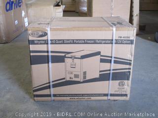 Whynter elite portable freezer/refrigerator item