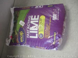 Encap fast acting lime fertilizer item