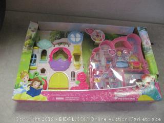 Disney princess little kingdom play n carry castle