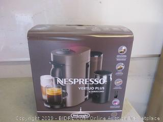 DeLonghi nespresso vertuo plus & aeroccino coffeemaker - factory sealed