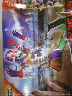 Monster Jam Grim Take Down Playset
