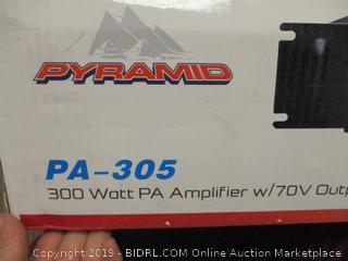 Pyramid PA Amplifier