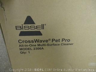 Bissell CrossWave Pet Pro Multi Surface Cleaner