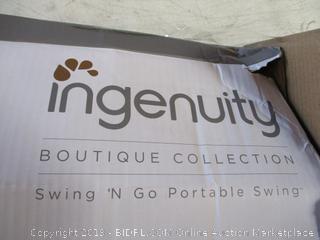 Ingenuity Boutique Swing N Go Portable Swing