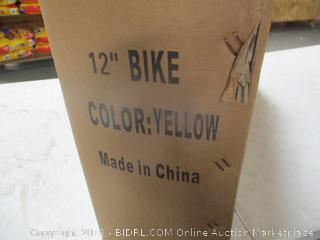 NiceC Yellow Bike