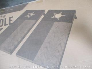 Texas State Flag Cornhole Bean Bag Toss Game