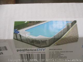 Poolfence DIY