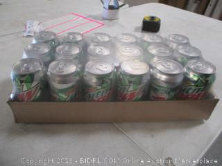 Diet Mountain Dew Cans