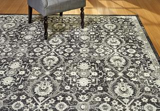 Gertmenian 21386 Oriental Rug V Persian Area Carpet, 8x10 Large, Gray Abstract Tabriz (Retail 228.45$)