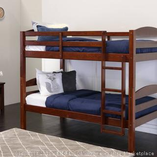 Solid Wood Bunk Bed - Saracina Home (Retail 419.99$)