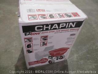 Chapin Auto Stop Tow Behind Spreader
