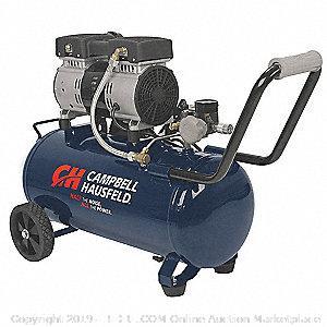 1.0 HP, 120VAC, 8 gal. Portable Electric Air Compressor, 125 psi (Retail 264.00$)