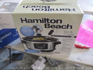 Hamilton Beach Slow Cooker dented