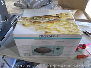 Nostalgia cubic foot Microwave