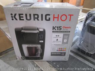 Keurig Hot K15 Classic