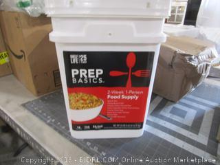 Prep Basics 2-week 1-Person Food Supply