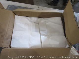 Pillowcases Tissue/poly white 100 each