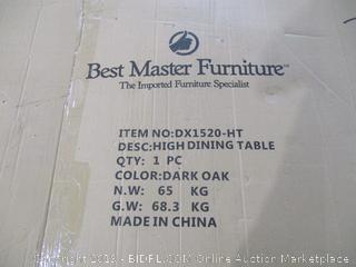 Best Master Furniture High Dining Table