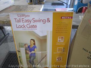 Supergate Tall Easy Swing & Lock Gate