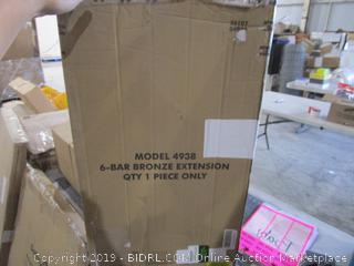 6 Bar Bronze extension
