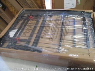 Platform Bed Frame Black Full