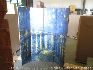 Room Divider two sided see pictures