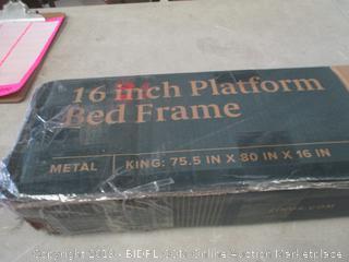 16 Inch Platform Bed Frame King