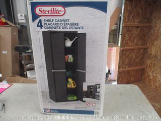 Sterilite Shelf Cabinet