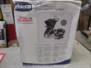 Chicco Bravo Quick Fold Trio System