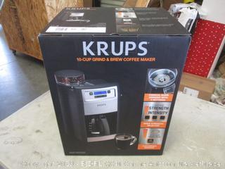 Krups  10-cup Grind & Brew Coffee Maker