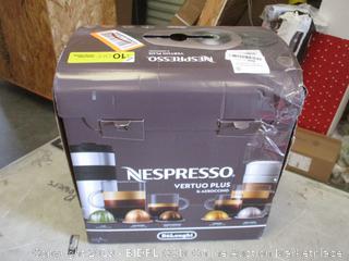 DeLonghi Nespresso Vertuo Plus & Aeroccano Powers On