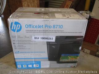 HP Officejet Pro Powers On