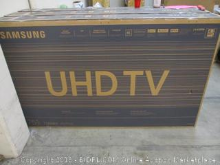 "Samsung UHD TV 75"" See Pictures"