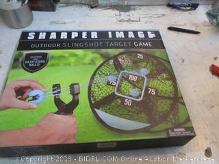 Sharper Image Outdoor Slingshot target Game