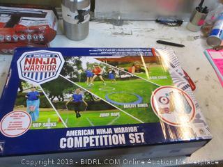 American ninja warrior Competition Set