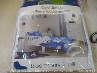 Outer Space toddler Bedding