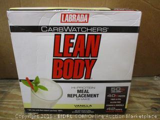 Labrada Carb Watchers Lean Body