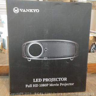 Vankyo LED Projector Full HD 1080P Movie Projector