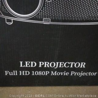 Vankyo LED Projector Full HD 1080P Movie Projector
