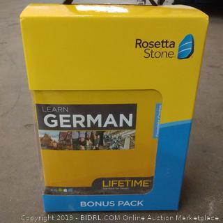 Rosetta Stone German