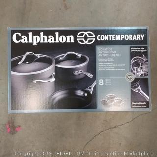 Calphalon Contemporary 8 Piece Cookware