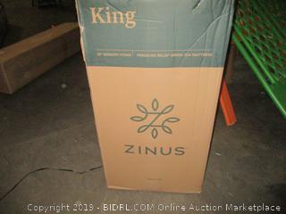 Zinus Memory Foam 10 Inch Green Tea Mattress, King (Retail $366.00)