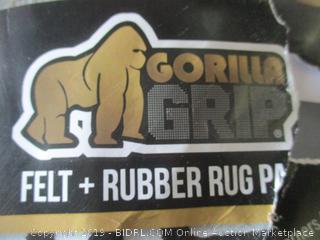 Gorilla Grip Felt + Rubber Rug
