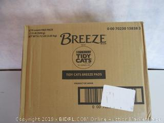 Purina Tidy Cats Cat Pads, BREEZE Refill Pack - (6) 10 ct. Pouches (Retail $75)