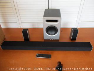"VIZIO SB3621n-E8M 36"" 2.1 Sound Bar System (Retail $150)"