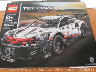 LEGO Technic Porsche 911 RSR 42096 Building Kit, 2019 (1580 Pieces) (Retail $150)