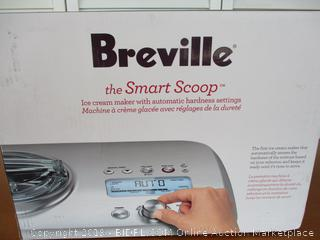 Breville BCI600XL Smart Scoop Ice Cream Maker ( Retail $445)