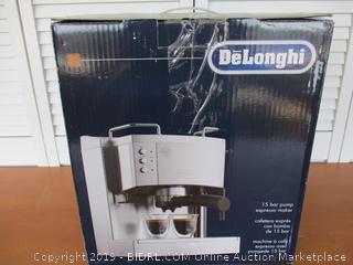 DeLonghi EC702 15-Bar-Pump Espresso Maker (Retail $200)