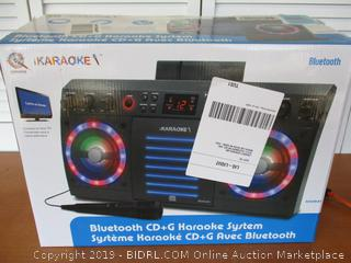 iKaraoke KS303B-BT Bluetooth CD&G Karaoke System
