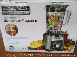 Hamilton Beach Professional 1800W Blender (58850) (Retail $290)